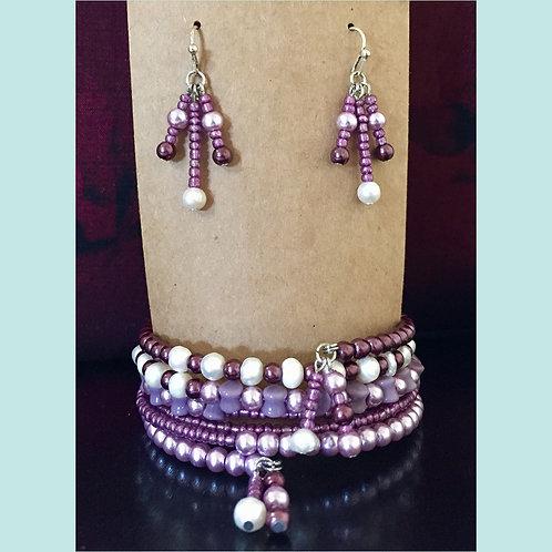 Freshwater Pearl & Bead Set