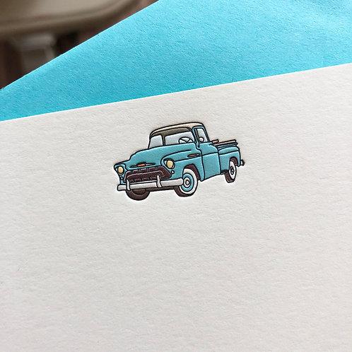 Truck Notecard