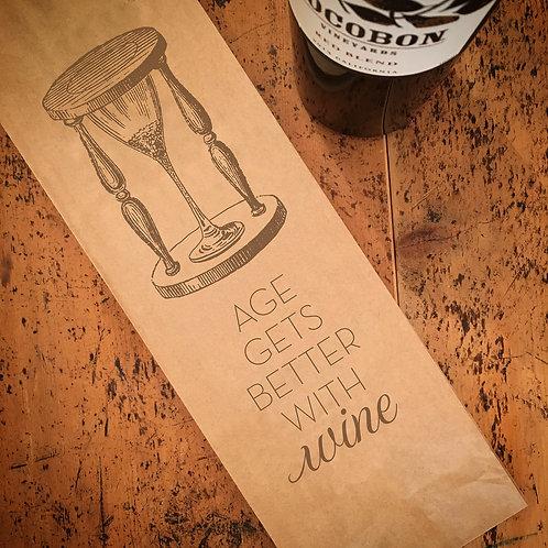 Aged Wine Wine Bag