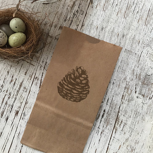 Pine Cone Snack Bag
