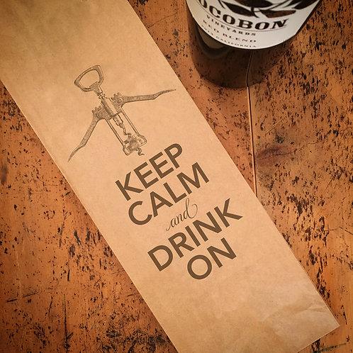 Keep Calm, Wine Bag