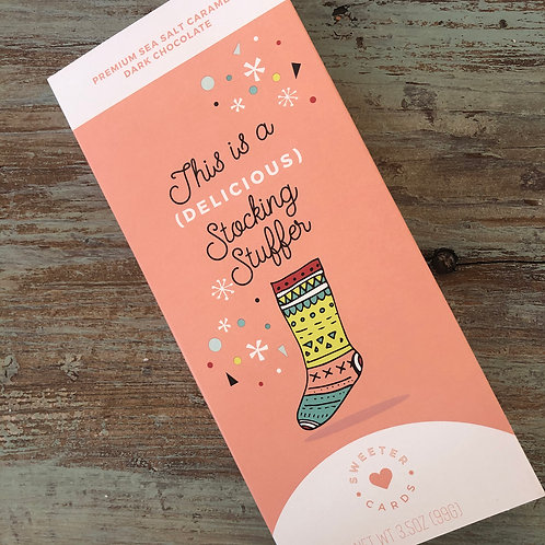 Holiday Chocolate Bar - Stocking Stuffer
