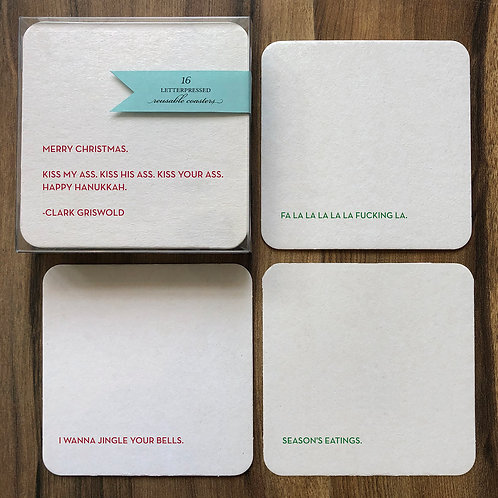 Holiday Coaster Set 4