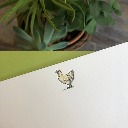 Chicken Notecard