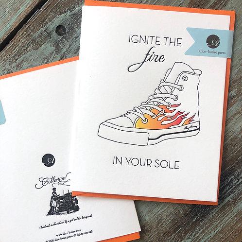 Fire Soles Card