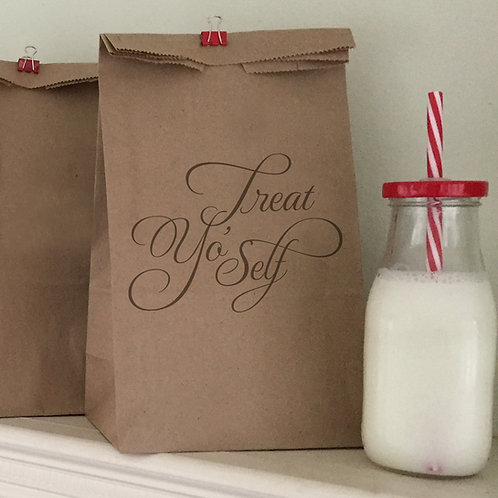 Treat Yo' Self Lunch Bags