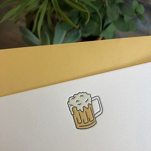 Beer Notecard