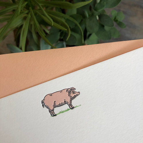 Pig Notecard
