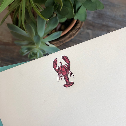 Lobster Notecard
