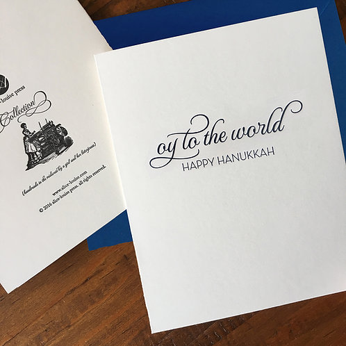 Oy Hanukkah Boxed Cards
