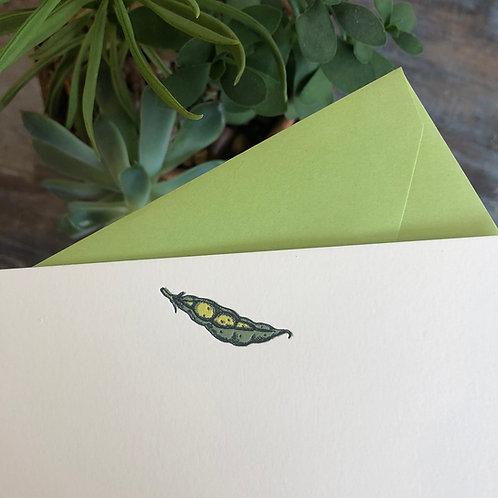 Peapod Notecard