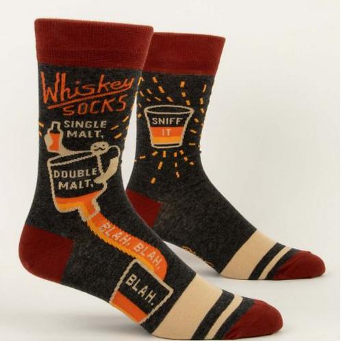 Men's Whisky Crew Socks