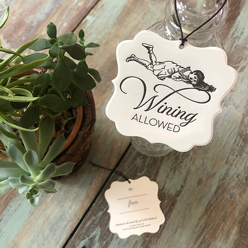 Wining Wine Tags