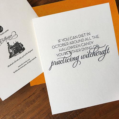 Witchcraft Card