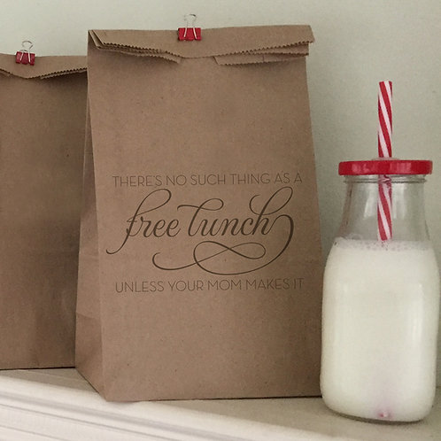 Free Lunch Lunch Bags