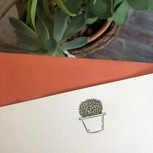 Succulent 2 Notecard