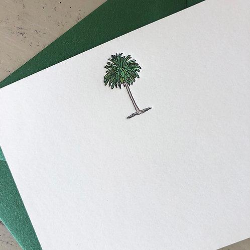 Palm Tree Notecard