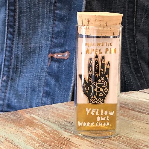 Mystic Hand Magnetic Enamel Pin