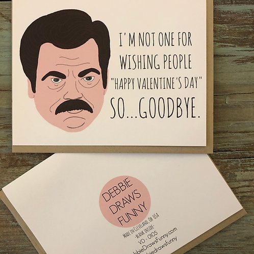 Not One For Wishing Card