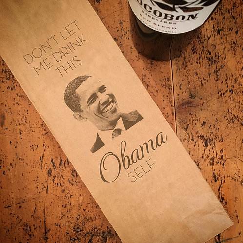 Obama Wine Bag