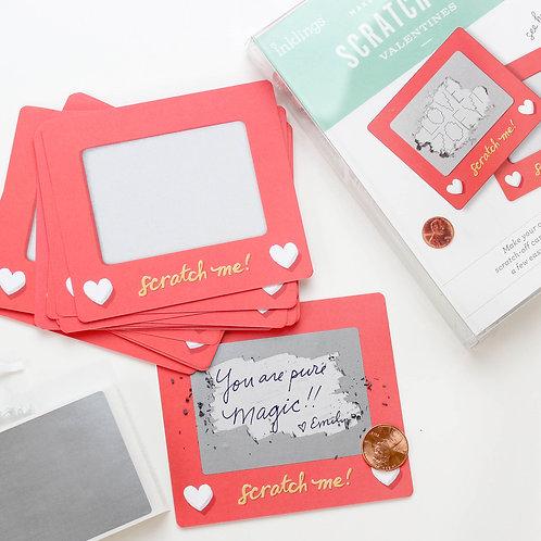Scratch A Sketch Valentines