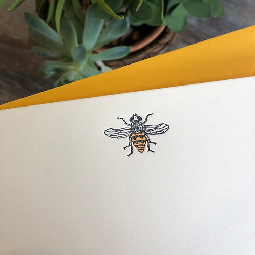 Bee Notecard