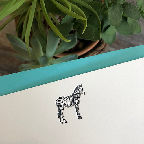 Zebra Notecard
