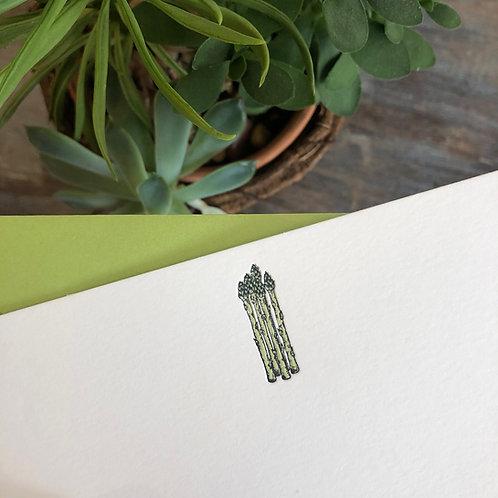 Asparagus Notecard