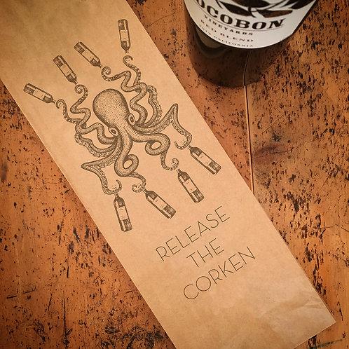 Octopus, Wine Bag