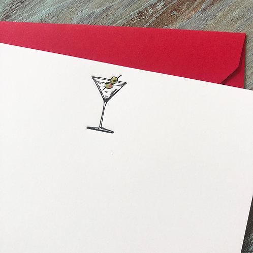 Martini Notecard