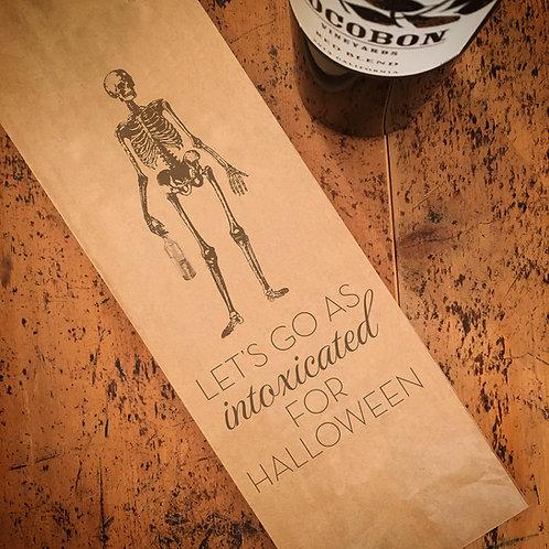 Skeleton, Wine Bag