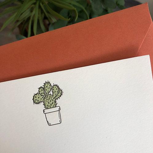 Succulent 3 Notecard
