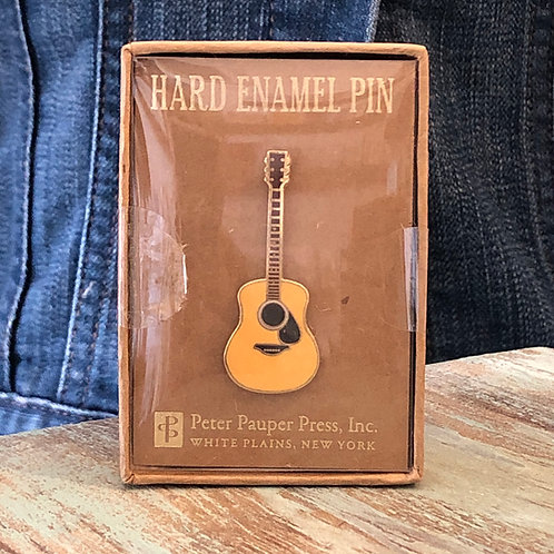 Guitar Enamel Pin