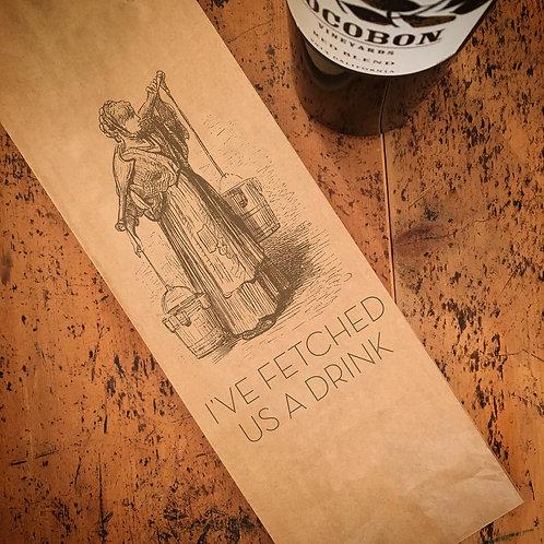 Fetched Drink, Wine Bag