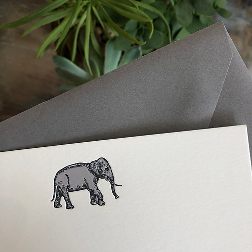 Elephant Notecard