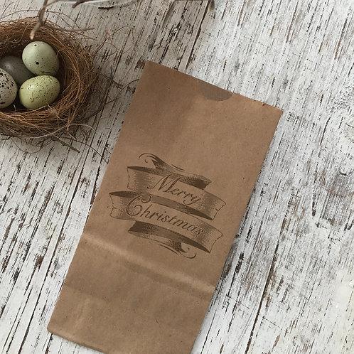 Merry Christmas Snack Bag