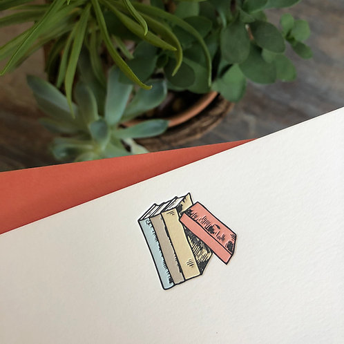 Books Notecard