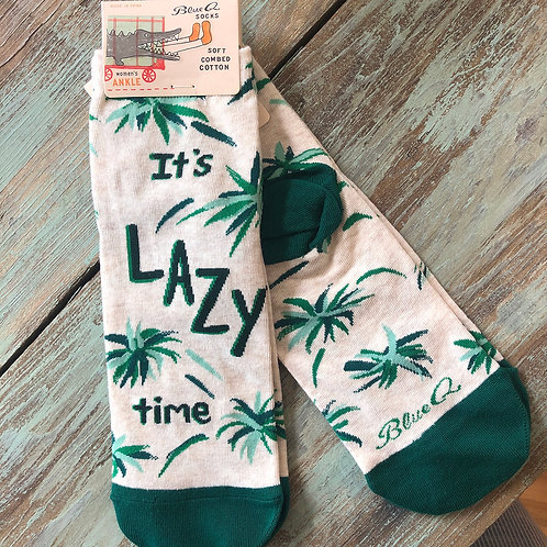 Lazy Time Women's Ankle Socks