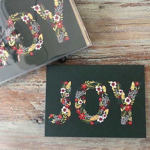 Floral Joy Boxed Cards
