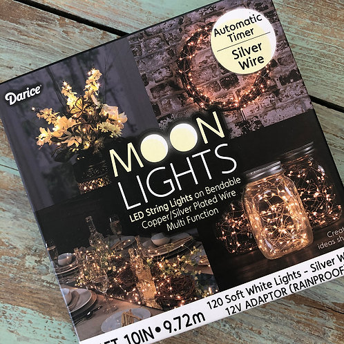 Moon Lights Silver Wire