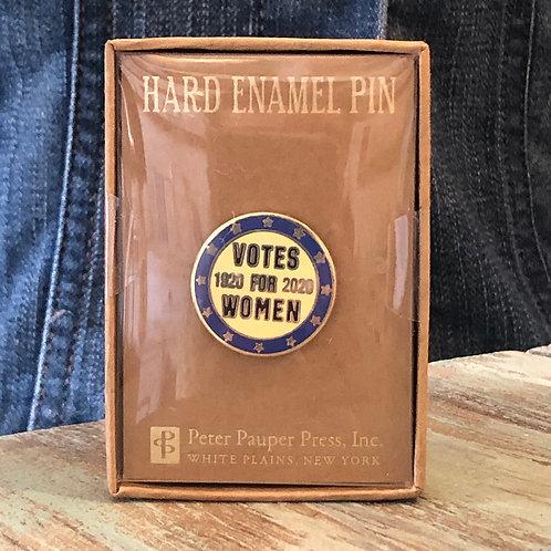 Votes for Women Enamel Pin