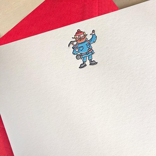 Yukon Cornelius Notecard