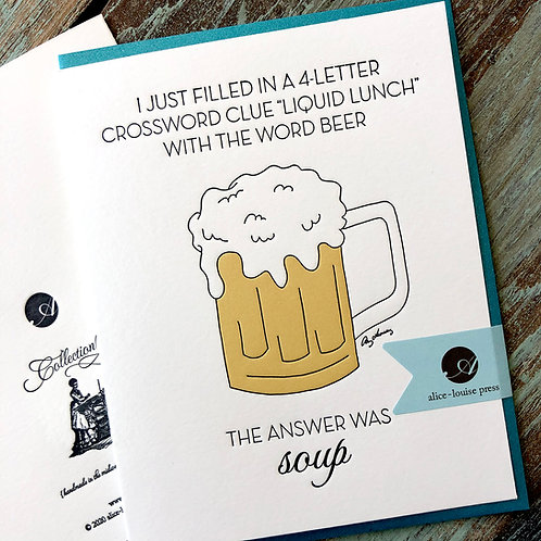 Beer Soup Card