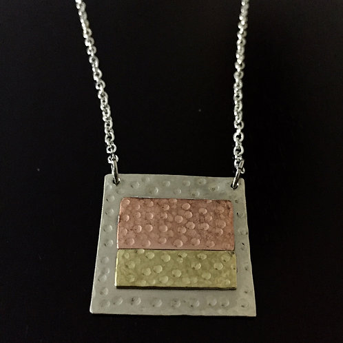 Silver/Brass/Copper Necklace