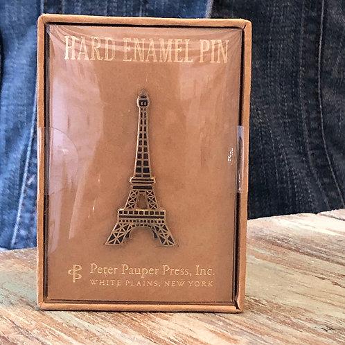 Eiffel Tower Enamel Pin