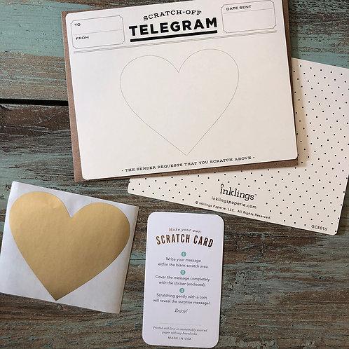 Telegram Scratch-Off