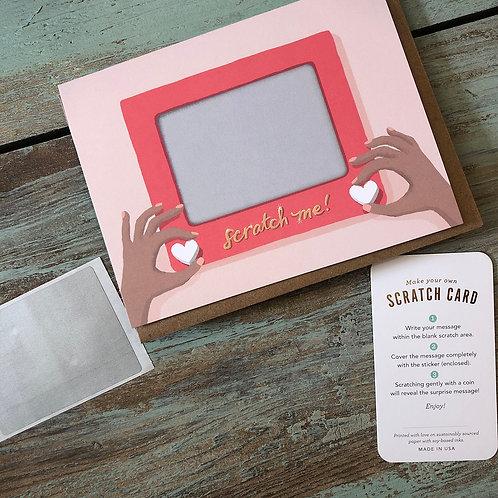 Scratch A Sketch Scratch-off Card