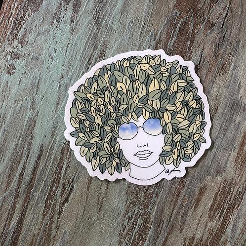 Spring Hair Sticker