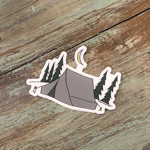 Camping Sticker