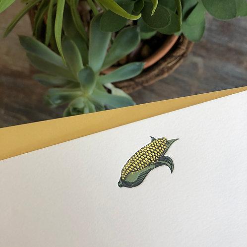 Corn Notecard